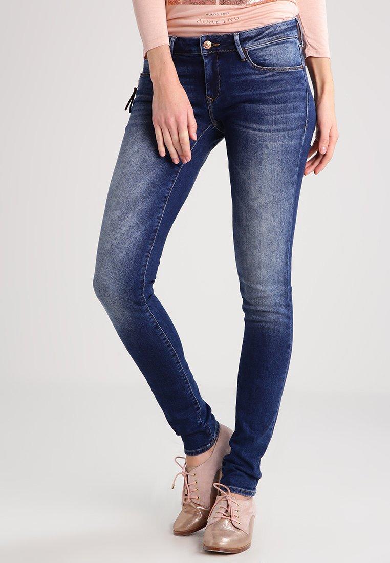Mavi - SERENA - Jeans Skinny Fit - dark used