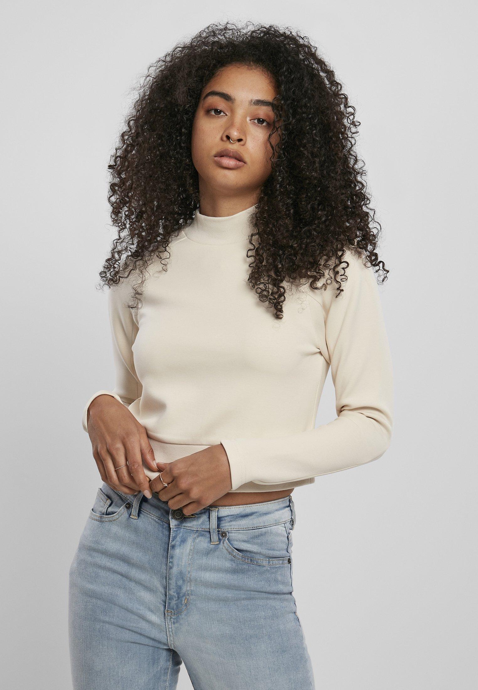 Urban Classics Sweatshirt - sand - Pulls & Gilets Femme HD5Yr