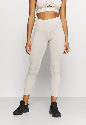 RUCHED LEGGING - Leggings - ecru