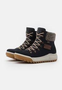 Rieker - Winter boots - pazifik/anthrazit/graphit/mogano - 2