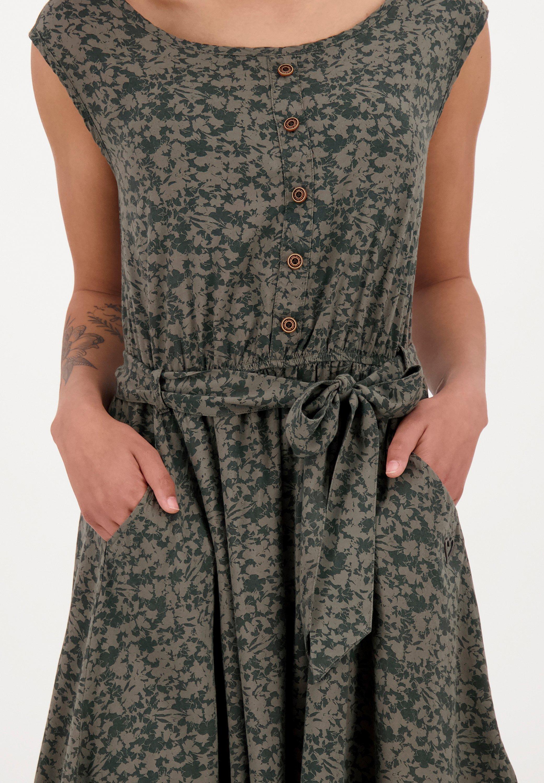 alife & kickin SCARLETTAK Jerseykleid stone/dunkelgrün