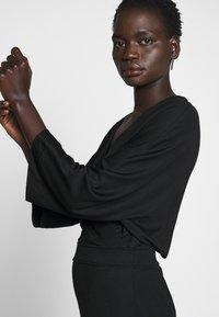 Filippa K - IRENE DRESS - Žerzejové šaty - black - 4