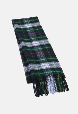 100% Cashmere Tartan Scarf - Huivi - green/blue