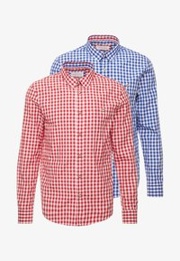 Pier One - 2 Pack - Camicia - blue, red - 6
