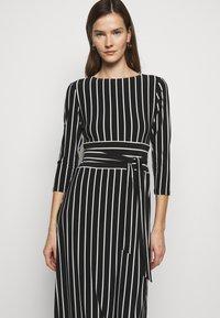 Lauren Ralph Lauren - PRINTED MATTE DRESS - Jersey dress - black - 2