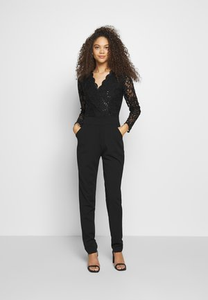 LONG SLEEVES - Jumpsuit - black