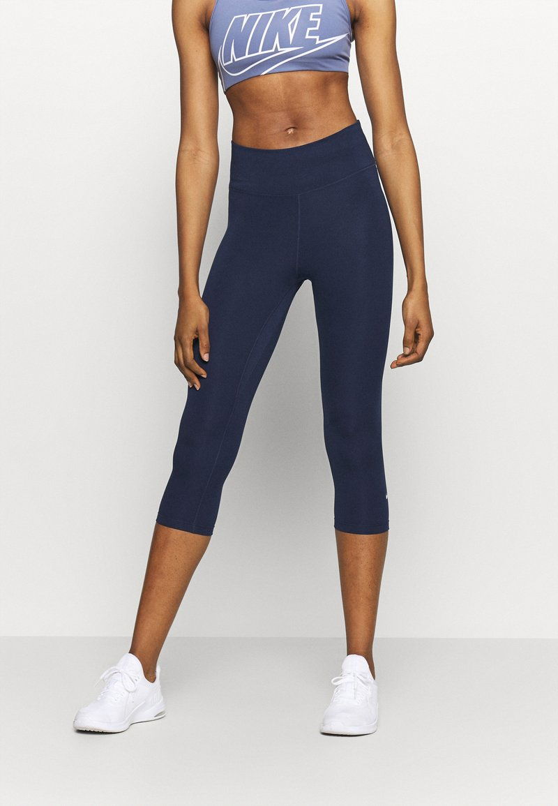 Nike Performance - ONE - 3/4 sports trousers - obsidian/white