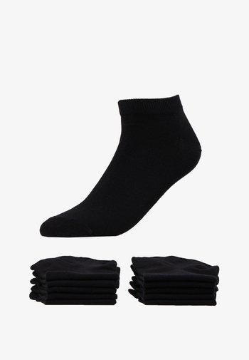 JACDONGO SOCKS 10 PACK - Ponožky - black/black