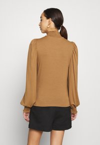 ONLY - ONLELVA  SMOCK - Camiseta de manga larga - toasted coconut