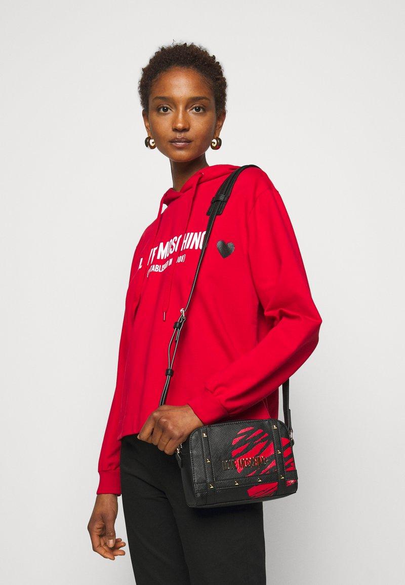 Love Moschino - PRINTED - Across body bag - fantasy color