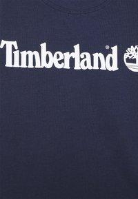 Timberland - LONG SLEEVE - Long sleeved top - navy - 2