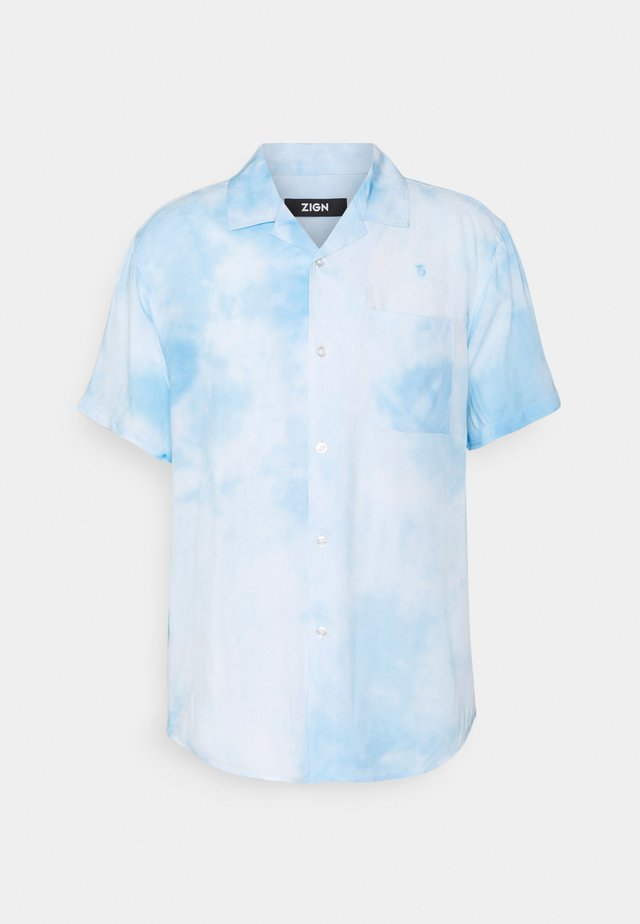 UNISEX - Camicia - white/light blue