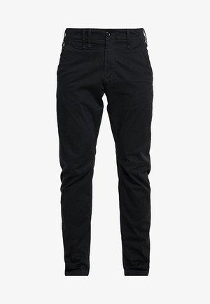 VETAR  - Chino kalhoty - premium micro str twill - dk black