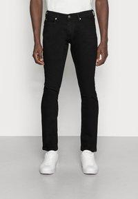 TOM TAILOR DENIM - SUPER PIERS  - Slim fit jeans - black denim - 0