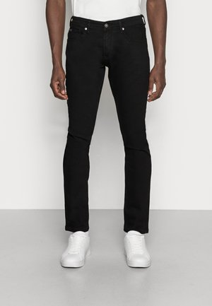 SUPER PIERS  - Slim fit jeans - black denim