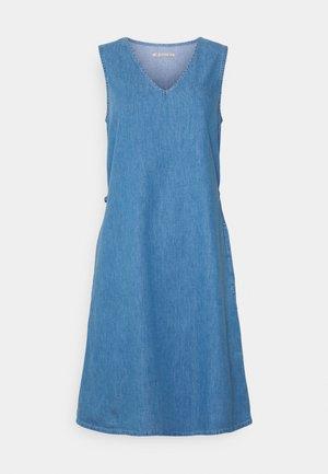 Jeanskjole / cowboykjoler - light blue denim