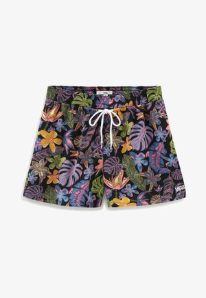 WM TROPICALI SHORT - Shorts - black