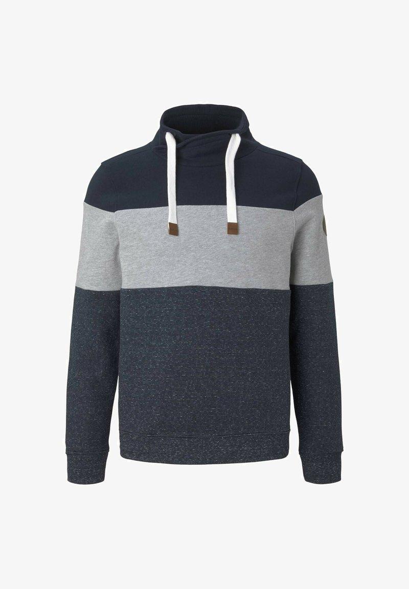 TOM TAILOR - Sweatshirt - middle grey melange