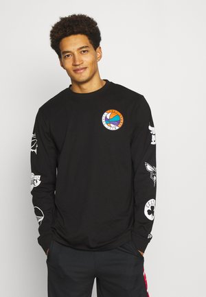 NBA EAST WEST COAST LONG SLEEVE - Club wear - black