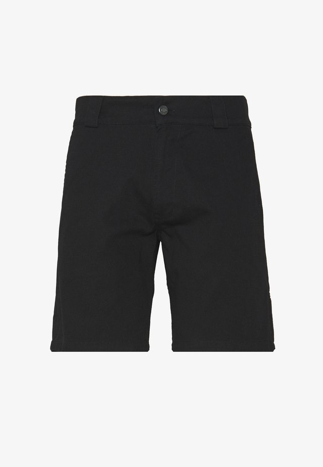 UNISEX SWEET STRAIGHT WORK CHINO SHORTS - Shortsit - black