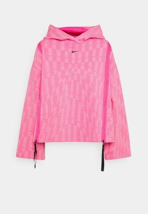 HOODIE - Sweatshirt - hyper pink/lotus pink/black