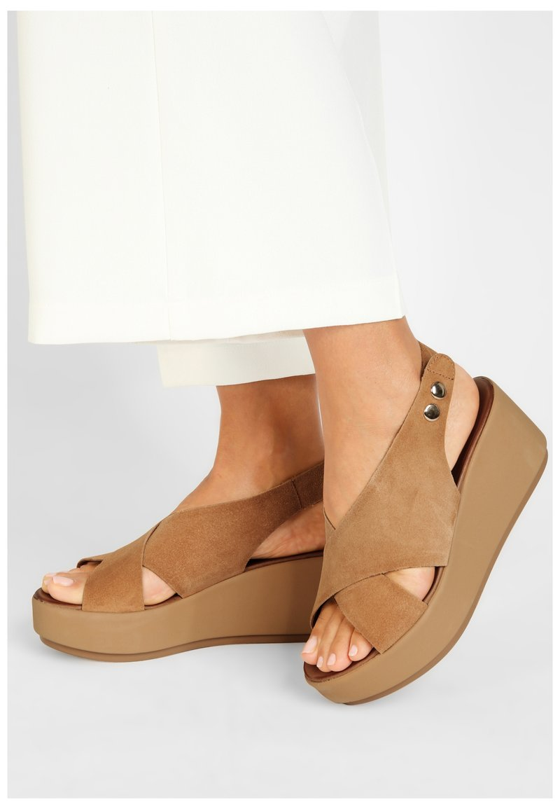 Inuovo - Platform sandals - sd scissors