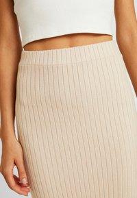 Glamorous - Pencil skirt - stone - 4