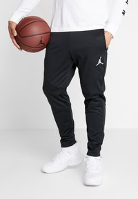 Jordan - ALPHA THERMA PANT - Träningsbyxor - black/white - 0