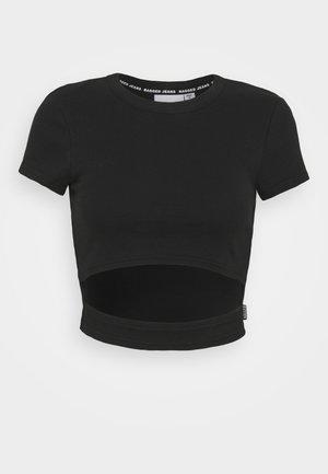 SOUL TEE - T-shirt print - black