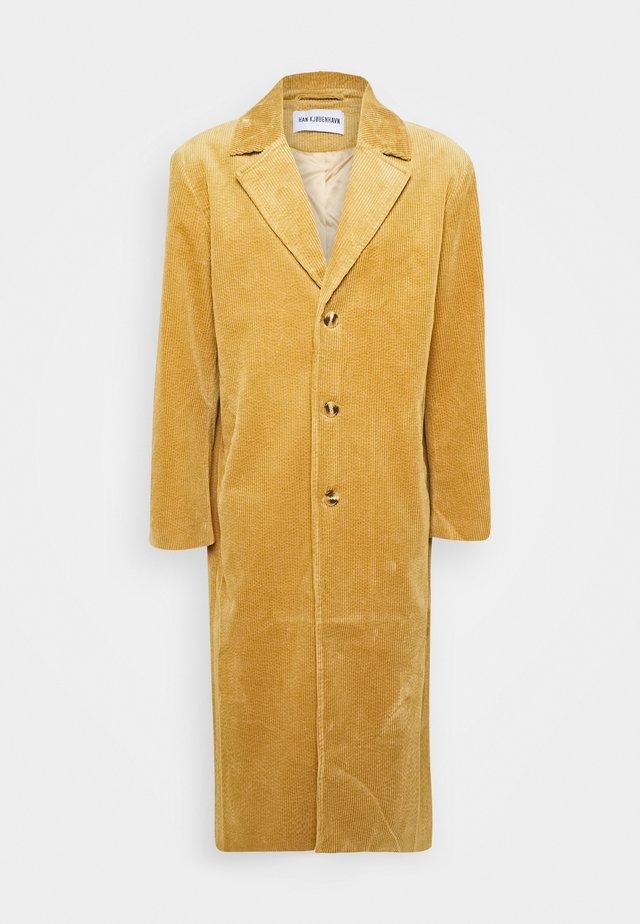 BOXY COAT - Mantel - brown