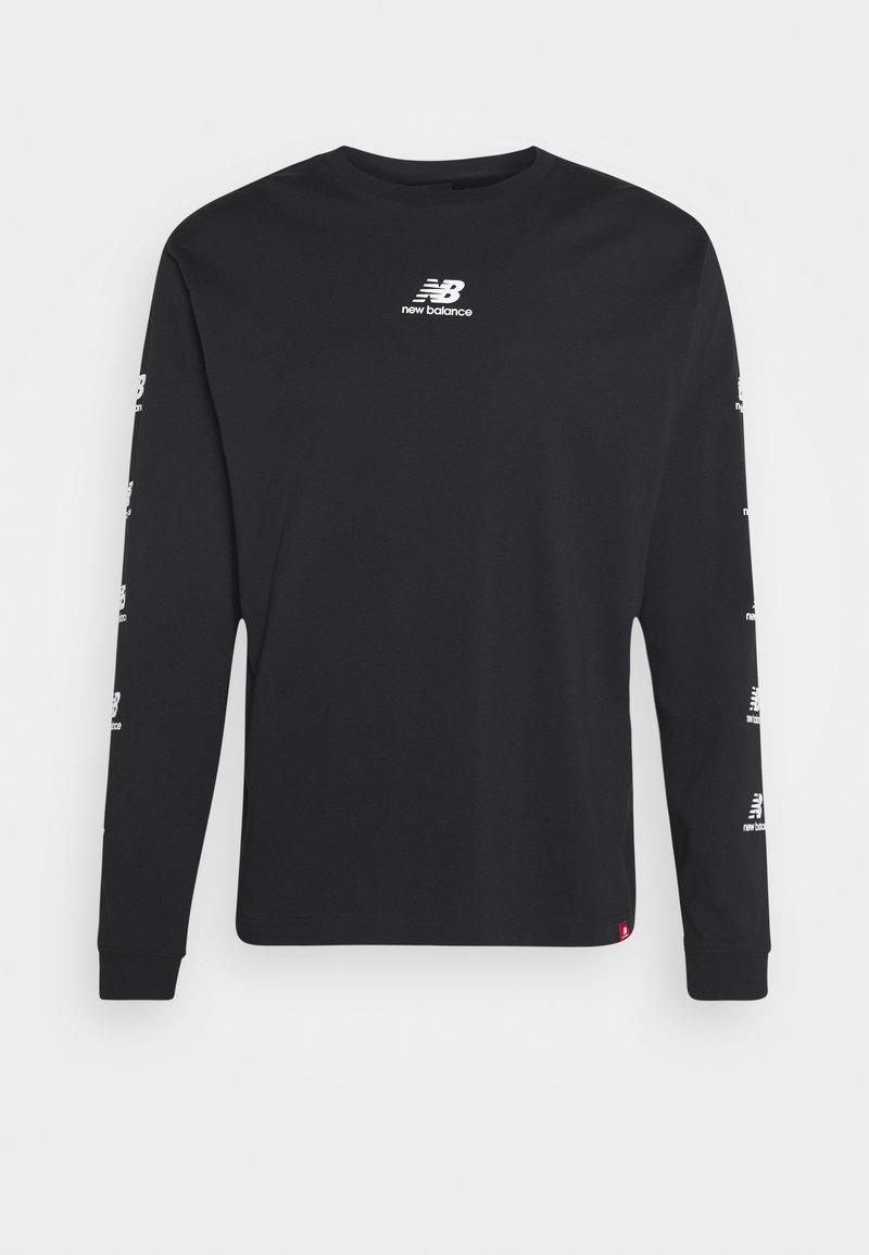 New Balance - ESSENTIALS STACK PACK  - Camiseta de manga larga - black