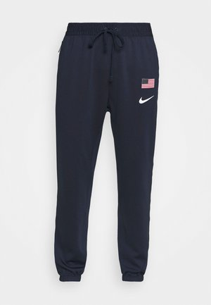 TEAM USA THERMAFLEX PANT - Pantalon de survêtement - obsidian