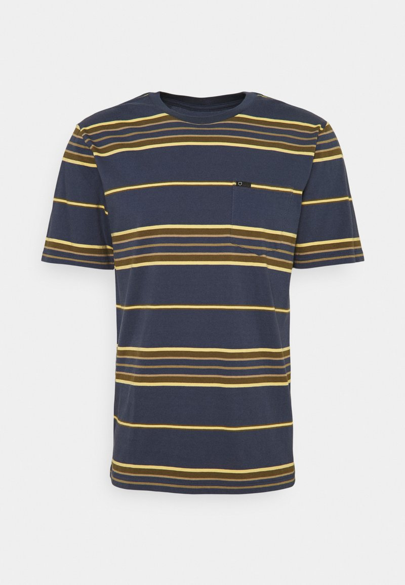 Brixton - HILT  - Print T-shirt - washed navy