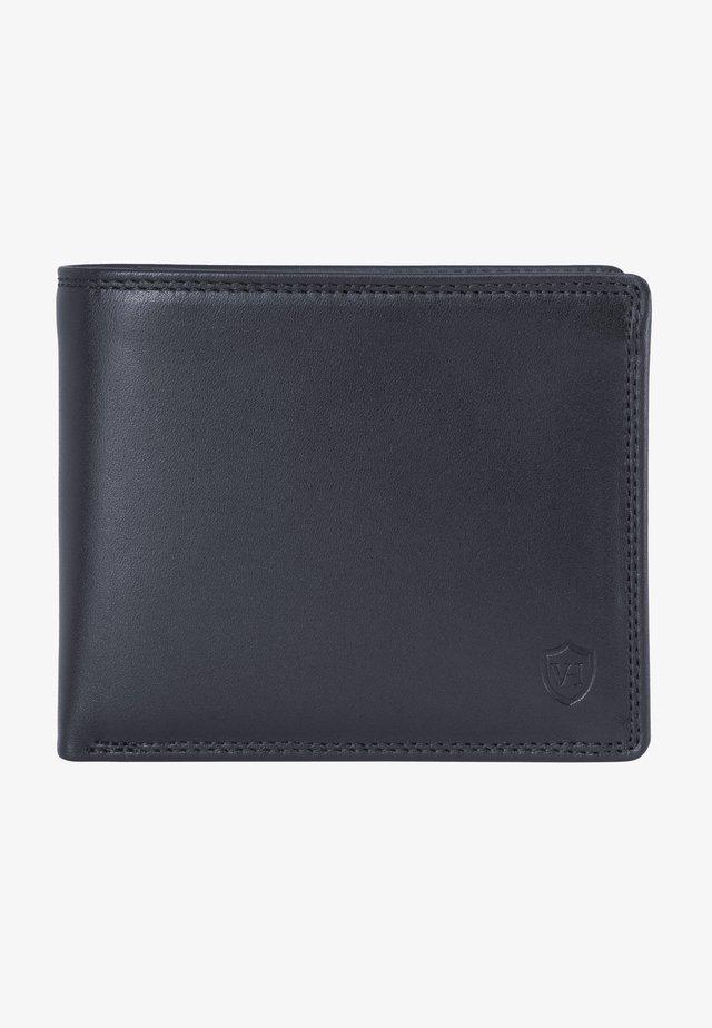 Wallet - schwarz (glatt)