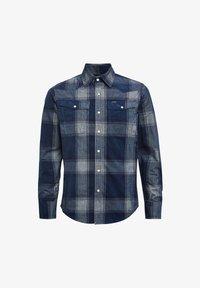 G-Star - 3301 SLIM CHECK - Shirt - sartho blue james check - 3