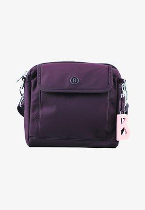 VERBIER - Across body bag - burgundy