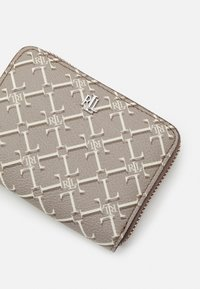Lauren Ralph Lauren - WALLET SMALL - Peněženka - taupe heritage logo - 3