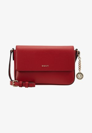 BRYANT FLAP CBODY SUTTON - Across body bag - bright red