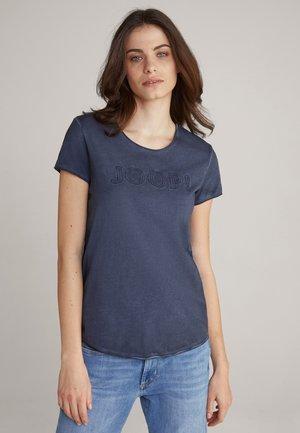 TAMAR - Print T-shirt - navy