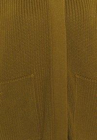 CLOSED - HEAVY JUMPER - Cardigan - golden brown - 2