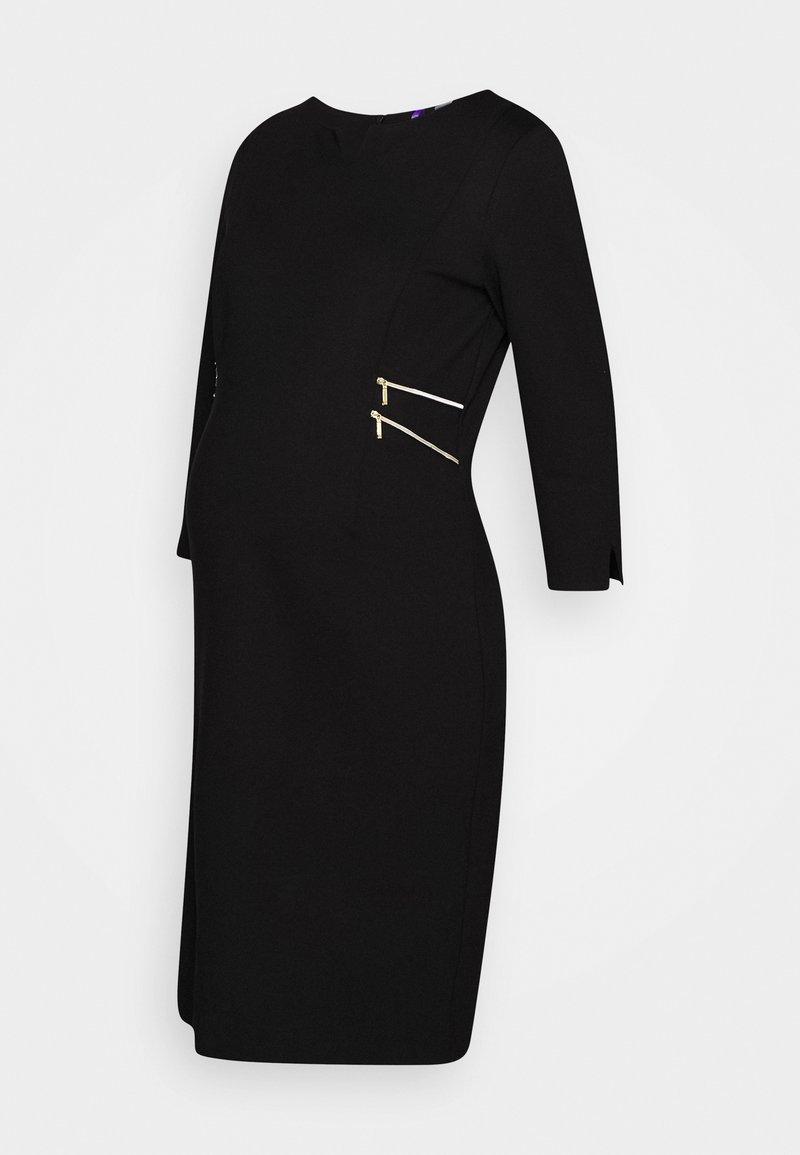 Seraphine - AUDREY - Žerzejové šaty - black