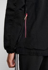 adidas Originals - HOODED JACKET - Windbreakers - black - 3