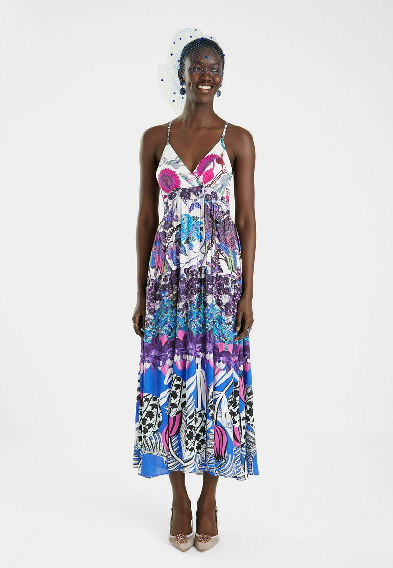 Desigual - DESIGNED BY M. CHRISTIAN LACROIX - Maxi dress - red