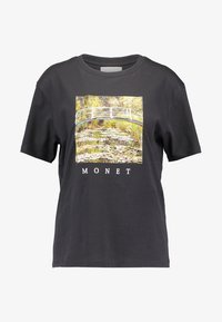 TWINTIP - T-shirt med print - dark grey - 3
