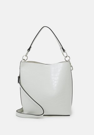 CHESNEY LIZARD BUCKET - Handbag - white