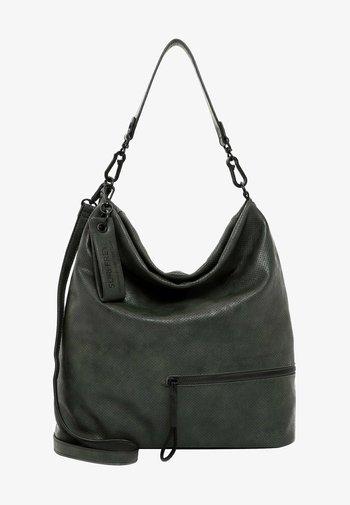 CHELSY - Shopping bag - darkgreen