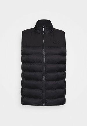 LASSEN GILET - Waistcoat - black