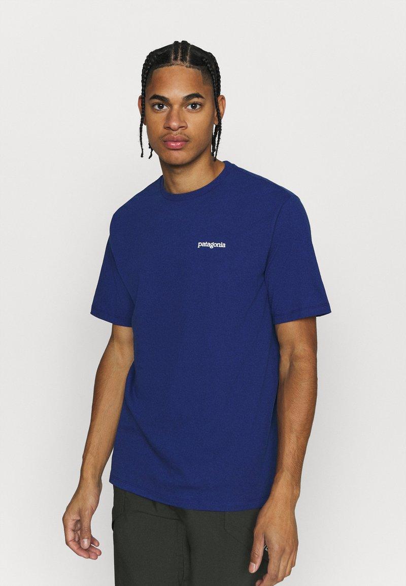Patagonia - FITZ ROY HORIZONS RESPONSIBILI TEE - T-shirt imprimé - superior blue