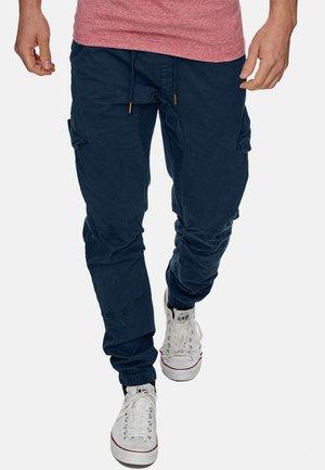 LEVI - Pantalon cargo - navy