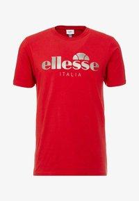Ellesse - LUCCHESE - T-shirt imprimé - burgundy - 3